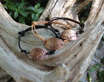 Copper UP - Upper Peninsula of Michigan Yooper Bracelet