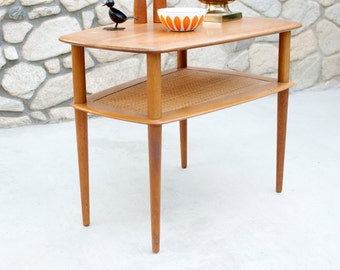 Vintage Peter Hvidt Teak Coffee Table by France & Son Danish Modern - Mid Century
