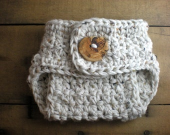 PATTERN:  Chunky Diaper Cover, textured newborn baby, InStAnT DoWnLoAd, nappy soaker, gender neutral, easy crochet PDF, Permission to Sell