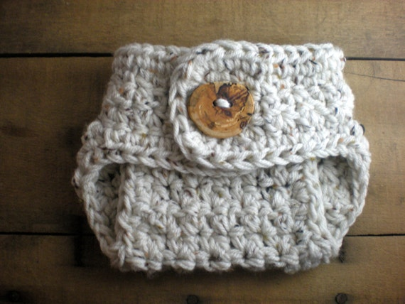 Free Crochet Pattern For Baby Diaper Soaker : PATTERN: Chunky Diaper Cover, textured newborn baby ...