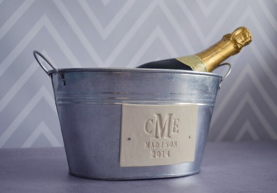 Personalised Wedding Gift Champagne : Personalized Wedding GiftChampagne Bucket