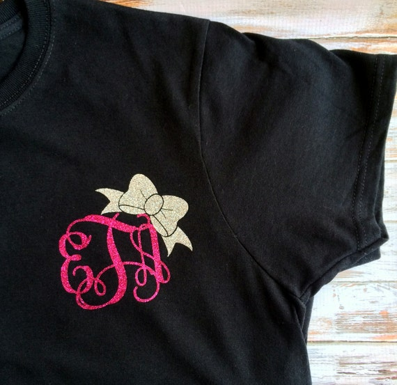 Items Similar To Monogram T Shirt Monogram Shirt