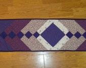 Purple Braided table runner