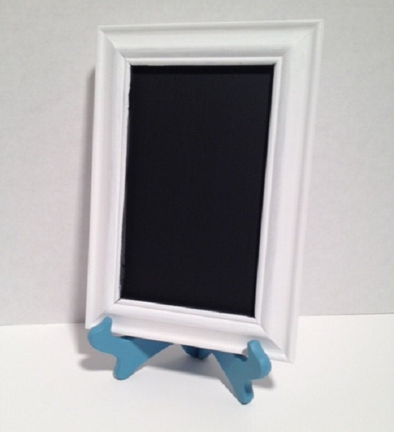 Decorative Chalkboards For Home: Chalkboard & Easel Set Decorative Style Chalkboard Rustic