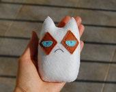 Grumpy cat handmade plush doll