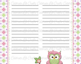 baby shower guest list template guest list printable etsy