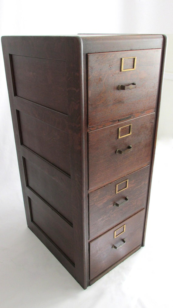 These 6 Pieces Of Colorful Furniture Are Absolute Must Haves: Reserved For S: Tiger Oak Legal Filing Cabinet. By