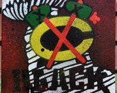 Chicago Black Hawks Stanley Cup Champions Fine Art