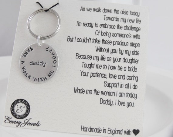 Wedding Day Gift For Father Of The Bride : Father of the bride gift. Personalized brides by HappyDayBridal