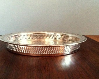 Vintage Silver Plated Deep Tray WM Rogers and Sons