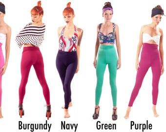 High Waisted Leggings BOGO SALE Gym Wear Basic Yoga Pants