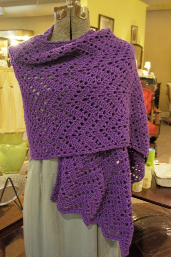 Crochet Prayer Shawl : Crochet Prayer Shawl by hendersonmemories on Etsy