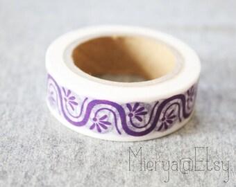 Washi Tape - Japanese Washi Tape - Masking Tape - Deco Tape - WT1096