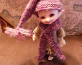 Hat and Scarf for BJD