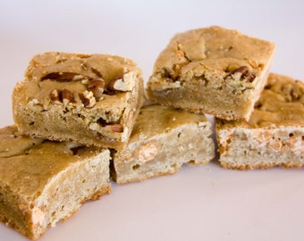 FREE SHIPPING Blondies - 12 HUGE blondies