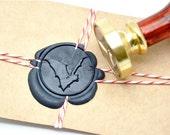 B20 Wax Seal Stamp Halloween Gothic Bat