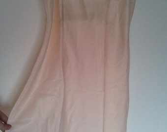 Pink nightie 1950 1960 pin up S lace