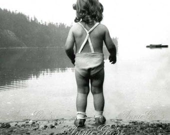 Little Lady of the Lake, Lake Girl - Instant Digital Download Photo D189A