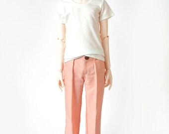 Peach SD13 Boy Pleated Trousers