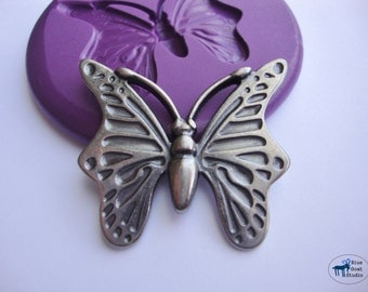 Butterfly Mold - Silicone Mold - Polymer Clay Resin Fondant