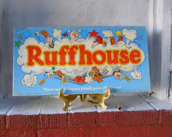 Ruffhouse Board Game 1980.   Nice VINTAGE Condition