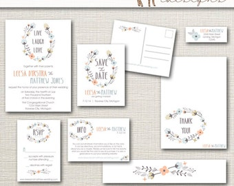 invites stationery curated by wedloft on etsy