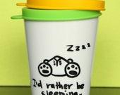 Sleeping Bunny travel cup