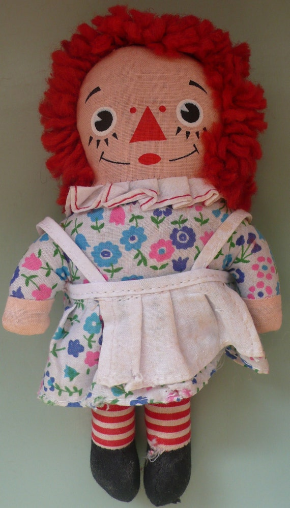 Vintage Raggedy Ann doll in original box 7 by ...