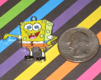 Spongebob Enamel Pendant Charm(s) Only