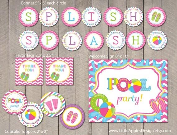 Birthday Invitation Pool Party was good invitation layout