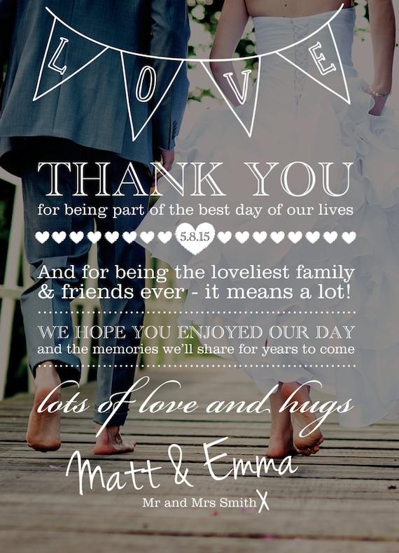 customised wedding thank you card designcatacakecreations