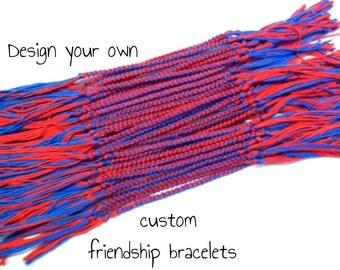 20 Custom Friendship Bracelets Bulk Order - Bulk Friendship Bracelets