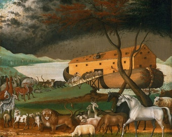 "Edward Hicks : ""Noah's Ark"" (1846) - Giclee Fine Art Print"