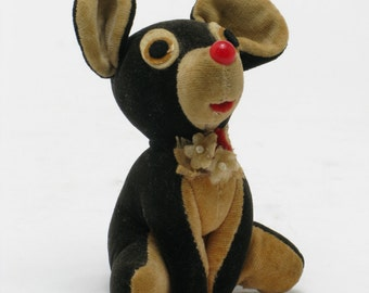 Adorable Vintage Mouse Doll