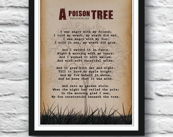 a plot summary of william blakes poem a poison tree The poems of william blake a poison tree i was angry with my friend: major themes, characters, and a full summary and analysis of select poems by william blake.