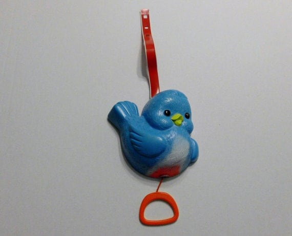 Fisher Price Bluebird Musical Toy For Baby Crib Number 189