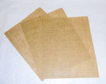 Laminated Burlap Printable Sheets for Your Inkjet Printer