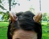 Ram  Horns, Headband Aries, Horn, Costume, Custom Colors,