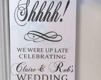 Hotel Door Hanger for Wedding Guests