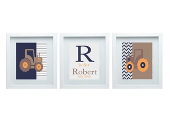 Pottery Barn Kids Bedding Tractor Room Decor Tractor