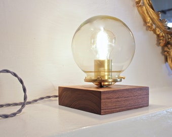 Guillamet Table Lamp- Walnut