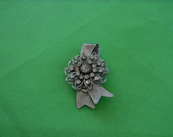 Vintage Silver-tone Brooch (Item 316)