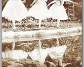 "INSPIRATIONAL CARD - Historic Turn of the Century Photograph - 5"" x 7"" - Vintage Photo Keepsake Art Card (CPIC2013024)"
