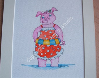 Paddlin' Piggy