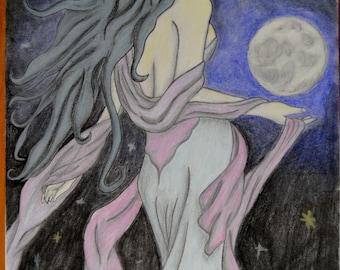 Pastel/Charcoal Artwork Commission
