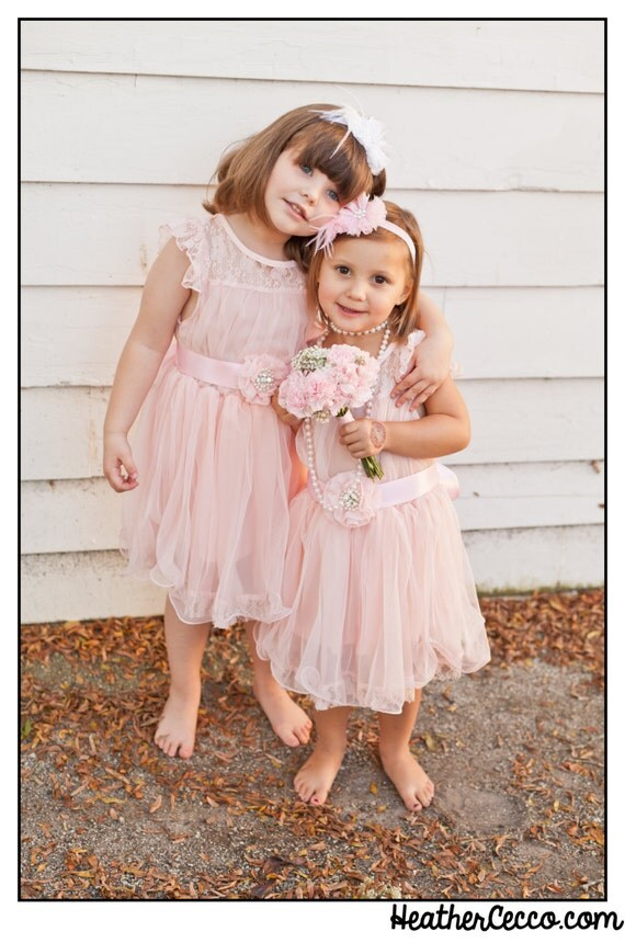 Pink Lace Toddler Girls Dress, Pink Flower Girl Dress, Rustic Flower Girl Dress Wedding, Easter Dress, Birthday Dress, Beach Dress Wedding