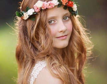 The Jocelyn Floral Halo