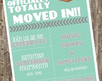 Housewarming Invitation - finally!