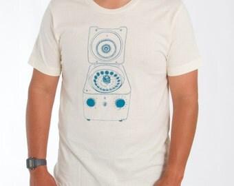 Centrifuge Screen-Printed Science Nerd T-Shirt - Men's & Women's