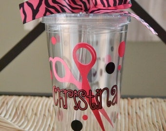 Hairdresser Personalized Tumbler
